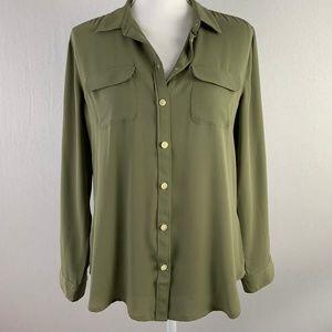 NWT!Ann Taylor | LOFT |Women's Petite Button Shirt